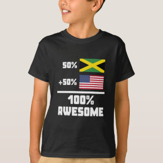 Awesome Jamaican American T-Shirt