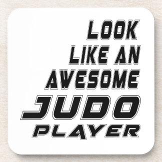 Awesome Judo Player Coaster