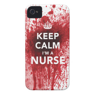 Awesome 'Keep Calm I'm a Nurse' iPhone 4 Case
