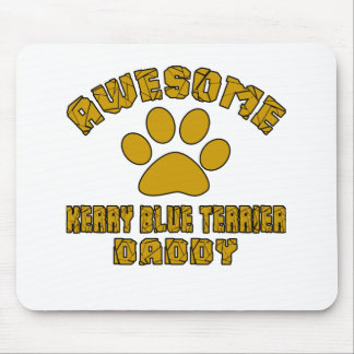 AWESOME KERRY BLUE TERRIER DADDY MOUSE PAD