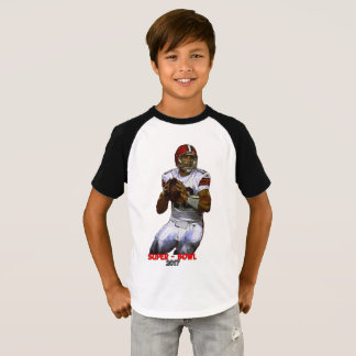 Awesome Kids' T-Shirt In Super-Bowl Design