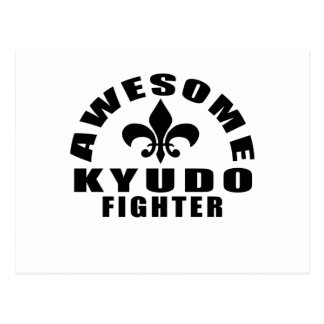 AWESOME KYUDO FIGHTER POSTCARD