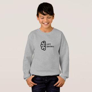Awesome Left Brained Kid's Sweatshirt
