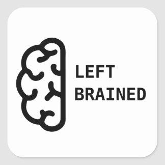 Awesome Left Brained Stickers