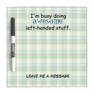 Awesome Left-Handed Stuff Dry Erase White Board
