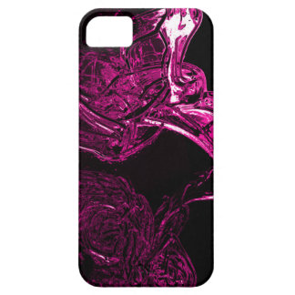 Awesome Liquid Fuchsia Case For The iPhone 5