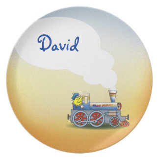 Awesome Locomotive with kid name Plate