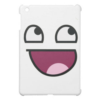 Awesome Lulz Smiley Face iPad Mini Cases