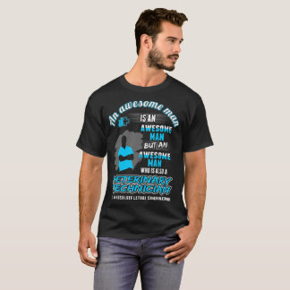 Awesome Man Veterinary Technician Lethal Tshirt