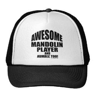 Awesome Mandolin Player Cap