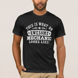 Awesome Mechanic T-Shirt
