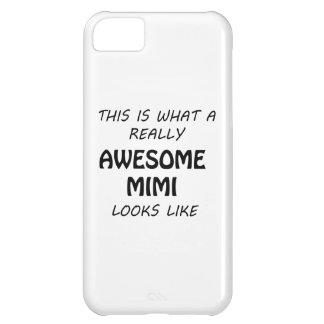 Awesome Mimi iPhone 5C Case