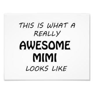 Awesome Mimi Photo Print