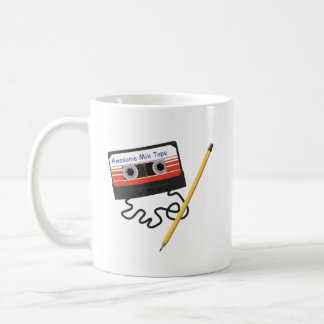 Awesome Mix Tape and Pencil Coffee Mug