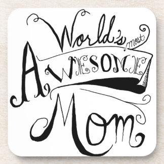 Awesome Mom Coasters