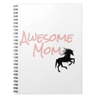 Awesome Mom Spiral Notebook