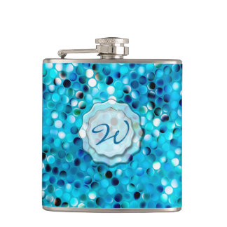 Awesome Mosaic 2 Wrapped Flask
