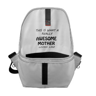 Awesome Mother Messenger Bag