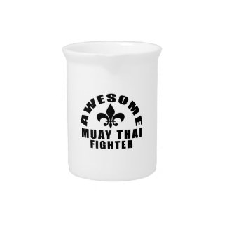 AWESOME MUAY THAI FIGHTER DRINK PITCHERS