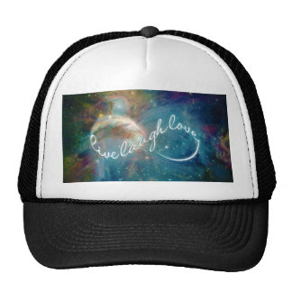 "Awesome mystic ""Live Laugh Love"" infinity symbol Cap"