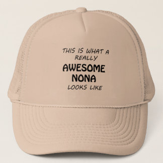 Awesome Nona Trucker Hat