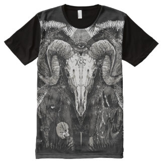 awesome occultism designs All-Over print T-Shirt