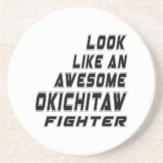 Awesome Okichitaw Fighter Coasters