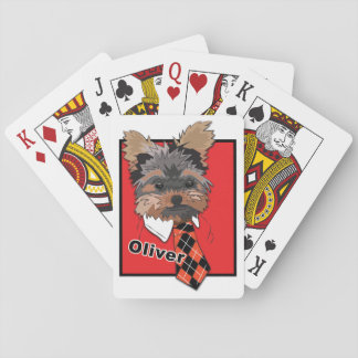 Awesome Oliver Playing Cards