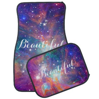 """Awesome Orion nebula shining stars """"Beautiful"""" Car Mat"""
