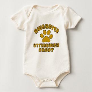 AWESOME OTTERHOUND DADDY BABY BODYSUIT