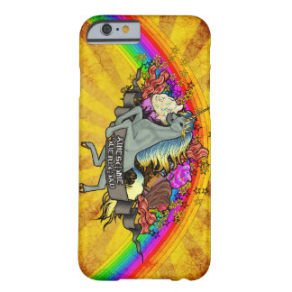 Awesome Overload Unicorn, Rainbow & Bacon Barely There iPhone 6 Case