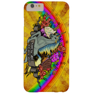 Awesome Overload Unicorn, Rainbow & Bacon Barely There iPhone 6 Plus Case