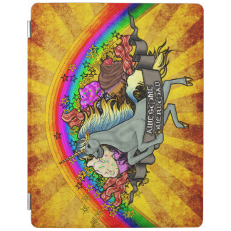 Awesome Overload Unicorn, Rainbow & Bacon iPad Cover