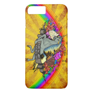 Awesome Overload Unicorn, Rainbow & Bacon iPhone 8 Plus/7 Plus Case