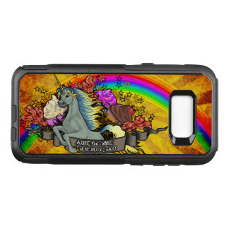 Awesome Overload Unicorn, Rainbow & Bacon OtterBox Commuter Samsung Galaxy S8+ Case