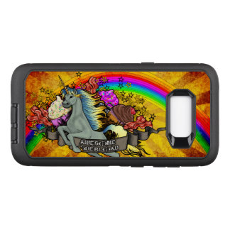 Awesome Overload Unicorn, Rainbow & Bacon OtterBox Defender Samsung Galaxy S8+ Case
