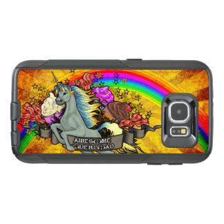 Awesome Overload Unicorn, Rainbow & Bacon OtterBox Samsung Galaxy S6 Case