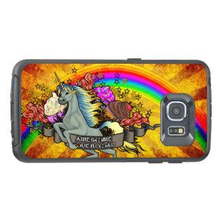 Awesome Overload Unicorn, Rainbow & Bacon OtterBox Samsung Galaxy S6 Edge Case