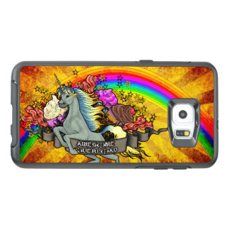 Awesome Overload Unicorn, Rainbow & Bacon OtterBox Samsung Galaxy S6 Edge Plus Case