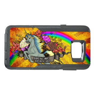 Awesome Overload Unicorn, Rainbow & Bacon OtterBox Samsung Note 5 Case