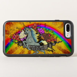 Awesome Overload Unicorn, Rainbow & Bacon OtterBox Symmetry iPhone 8 Plus/7 Plus Case