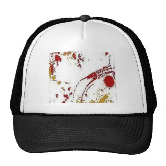 Awesome paint stains design trucker hats