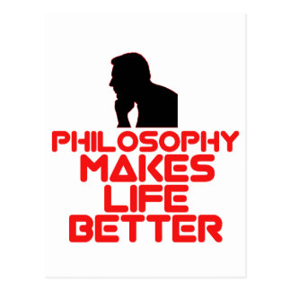 awesome Philosophy designs Postcard