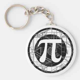 Awesome Pi Symbol Key Chains