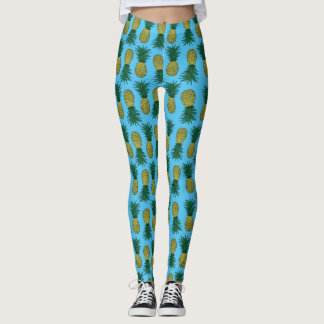 Awesome pineapple leggings