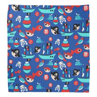 Awesome pirate pattern bandana