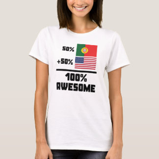 Awesome Portuguese American T-Shirt