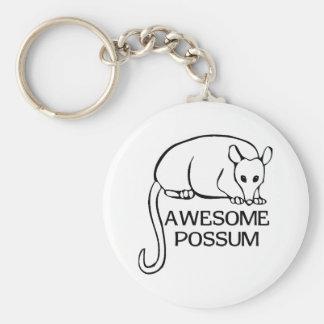Awesome Possum Key Ring