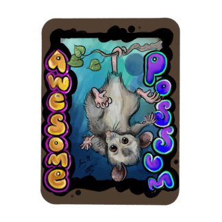 Awesome Possum! Magnet