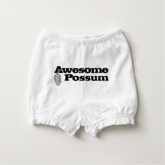 Awesome Possum! Nappy Cover
